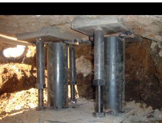 耐圧版工法の施工例